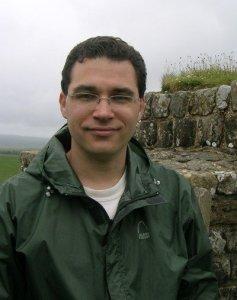 Erik at Hadrians Wall